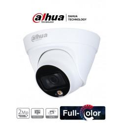 IPC-HDW1239T1P-LED-0360B-S4 - Cámara Domo IP - 2Mpx - Full Color H.265 - IP67 - Metalica - IR15 - Dahua (Cod:8998)