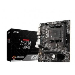 Mother MSI A520M-A PRO sAM4 (3rA Gen AMD Ryzen) DDR4  (Cod:8990)