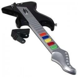Guitarra para PS2 Seisa con cable KX-G001 Negra (Cod:4798)