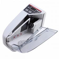 Contadora de billetes Portátil con visor externo (LCD y Display) - V30 (Cod:9081)