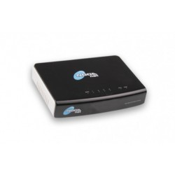 Router, Switch Noganet 1 WAN 4LAN - 100mbps de transferencia  - NG-S104R (Cod:5185)