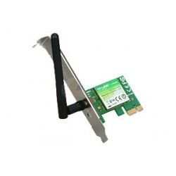 Placa de red PCI Express Inalámbrica - 150 Mbps - antena desmontable - N TP-Link - TL-WN781ND (Cod:5362)