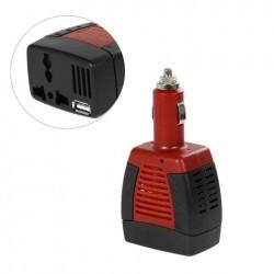 Power inverter 75w - de 12v a 220v con puerto usb DY-75 (Cod:5929)