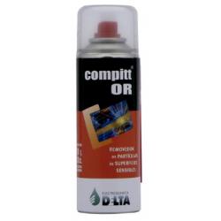 Gas comprimido removedor de partículas Delta Compitt OR 160gr - Delta (Cod:6504)