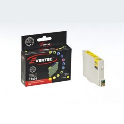 Cartucho Alternativo Evertec Epson 133 Amarillo T1334 (Cod:6725)