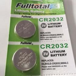 Pila de litio CR2032 - 3v - Fulltotal (Cod:7012)