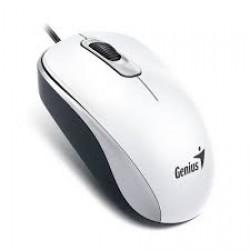 Mouse Genius DX-120 USB Ambidiestro Color Blanco (Cod:7309)