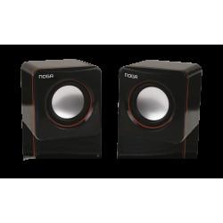 Parlantes USB Hi-Fi - Negro - NG-106 - Noganet (Cod:7353)
