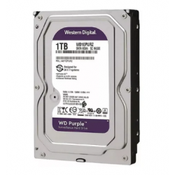 Disco rigido Western Digital 1TB SATA III PURPLE SURVEILLANCE (Cod:7610)