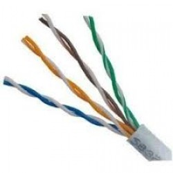 Cable UTP interior - Cat5e - Gris x metro (Cod:7758)