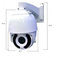 IP193G-20X - Domo PTZ IP - 20X - 4.0MP - IP66 - IR 150M - externa - Vision (Cod:7824)