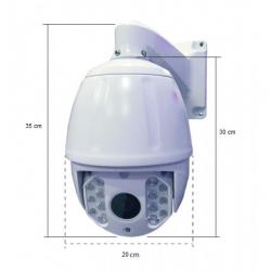 IP191G-20X - Domo PTZ IP - 20X - 4.0MP - IP66 - IR 120M - externa - Vision (Cod:7854)