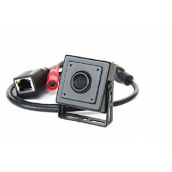 IPM01FE-2 - Camara Pinhole IP - 1.3MP - 960P - 3.7mm (Cod:7947)