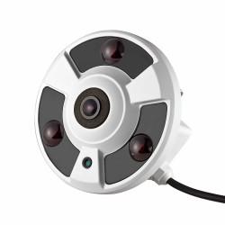 IP492FE-2-360 - Cámara IP - 1,3MP - 360° ojo de pez - Metálica - IR 20mts  (Cod:8115)