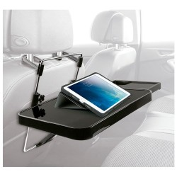 Bandeja Multipropósito para respaldo de asiento o volante del auto - NG-DESK1 - Noganet (Cod:8159)