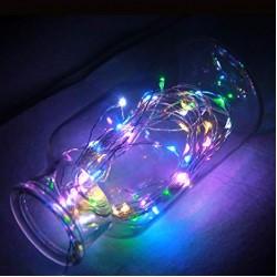 Luz Led Multicolor RGB - Hilo Alambre 10 Metros - LED-12T-RGB (Cod:8185)