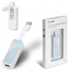 Adaptador USB 2,0 a Ethernet RJ45 - Tp-link - UE200  (Cod:8295)