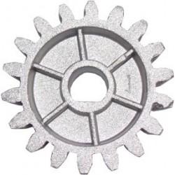 Piñón para motor / engranaje salida Z18 Aluminio solo CH - SEG - AUTARP209 (Cod:8379)