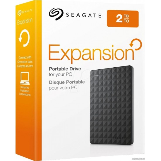 Disco Rigido Externo 2TB Usb 3.0 Seagate Expansión Negro - SRD0NF1 (Cod:8431)