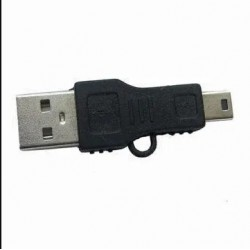 Adaptador Usb Macho Mini Usb Macho 5 Pines (Cod:8578)