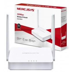 Router Inalambrico - Mercusys by TPLink 300Mbps N 2 Antenas - 5dBi - MW301R (Cod:8862)