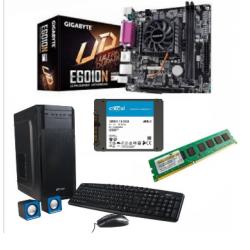 Combo AMD - Micro + Mother ITX AMD GA-E6010N + SSD 240GB + DDR3 4GB + Gabinete Kit (Cod:8878)