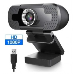 Cámara Web / Webcam Usb - 1080P Full Hd - Plug & Play - Con micrófono - Naxido (Cod:8927)