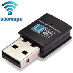 Adaptador Placa de Red Inalámbrica USB - 300mbps - DN-W300U4 (Cod:8978)