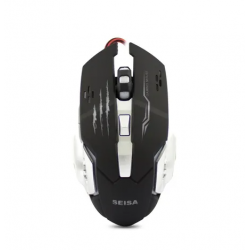 Mouse Óptico Gamer DN-N8920 -Usb -Color Negro (Cod:8983)