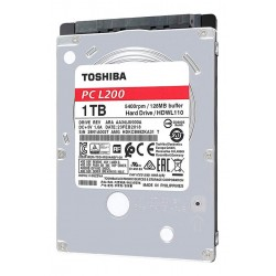 Disco Rígido Toshiba 1TB L200 SATA II 3,0Gb/s para Notebook 7mm (Cod:9088)