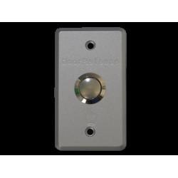 EX-901 - Botón de EXIT metálico empotrable 86x50 - CYGNUS (Cod:9122)