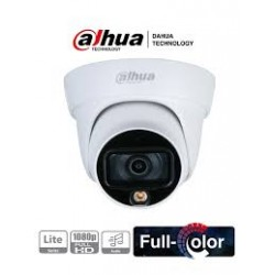 HAC-HDW1239TLP-A-LED-0280B - Camara Domo HDCVI - 2Mpx - Full-Color - IP67 - Metalica - Con Micrófono - IR20m - Dahua (Cod:8960)