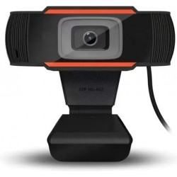 Cámara Web / Webcam Usb - 720P Hd - Plug & Play - Con micrófono (Cod:8957)